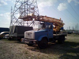 Заказ АГП 17 метров СПб