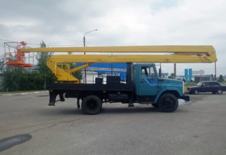 Автовышка ВС-22-01 на шасси ЗИЛ-130. Аренда автовышки 22 метра